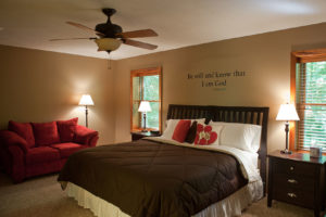 Bedroom at the Preserve