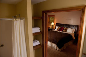 Each lodge has 4 bedrooms with a restroom and dual head shower.