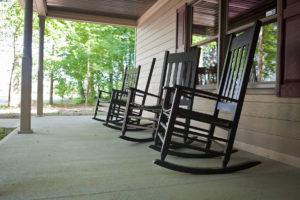 Preserve Marriage Lodge Front Porch