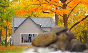 Preserve Lodge in the Fall
